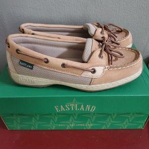 Eastland boat shoes slip on